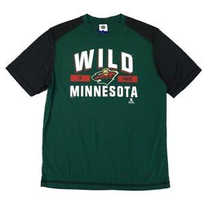 Zach Parise NHL Minnesota Wild Performance Player Graphic T-Shirt Men's