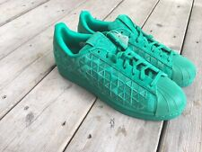 Adidas NEW Superstar Xeno AQ8180 Mens US 10 Fresh Green Genuine Leather