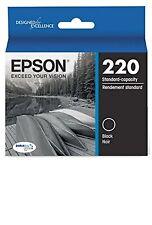 Epson 220 Standard Capacity Print Cartridge OEM Brand New