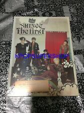 SHINee The First CD DVD First Press Limited Edition NEW SEALED KPOP RARE OOP