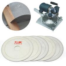 5pcs 4.5''/110mm Super Thin Diamond Lapidary Saw Blade Cutting Disc Rim 0.01''