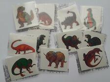 432 - Temporary Dinosaur Tattoos - Birthday Party Carnival Games Dino Favors