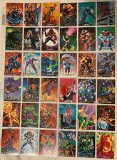 1992 Marvel Masterpieces Trading Cards COMPLETE BASE SET, #1-99 NM/M! Joe Jusko