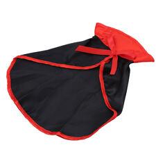 Black Halloween Pet Costume Cat Velvet Cape Small Dog Cosplay Party Dress G