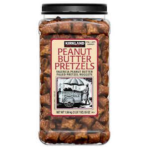 Kirkland peanut butter pretzels 3 lbs 7oz