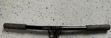 Vintage GT MTB Bars 25.4mm Flat Mountain Bike Handlebar Alloy With GT Grips 22""