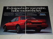 1986 HONDA PRELUDE SI 4WS article / ad