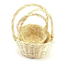 Round Hamper Basket Decorative Baskets