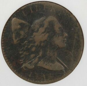 1794 Flowing Hair Large Cent NGC VF Details