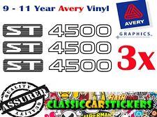 ST 4500 Sticker Decal for GU Nissan Patrol