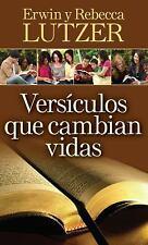 Versiculos Que Cambian Vidas (Paperback or Softback)
