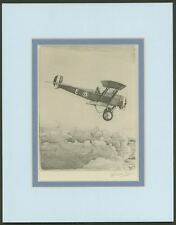 Bristol Bullet Biplane - Vintage Collotype Print by Howard Leigh - Ready 2 Frame
