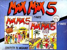 BOXx2CAS - MAX MIX 5 - 2ª MIXED BY: J.Mª CASTELLS & T.PERET (ITALO) MINT * NUEVO