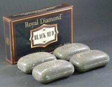 LOT 4 DEAD SEA MUD SOAP Bars Natural Salt Mineral Rich Face Body Skin Health Spa