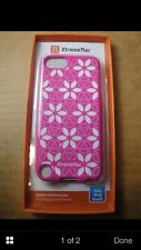 Xtrememac iPod Touch SILICONE CASE PINK FLOWER TUFFWRAP TATU APPLE MAC IPT TTN33