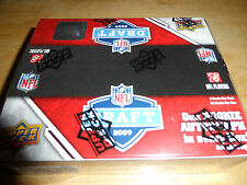 2009 Upper Deck Draft Football Box - 1 Rookie Auto Card Per Box on Average