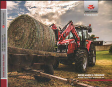 "Massey Ferguson ""6700S Series"" Utility Tractor Brochure Leaflet"