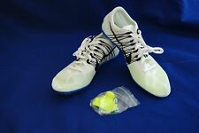 Nike Zoom Victory 2 Men's Track Spike Unisex 555365-100 White Black Size 8