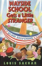 Wayside School Gets a Little  Stranger-ExLibrary