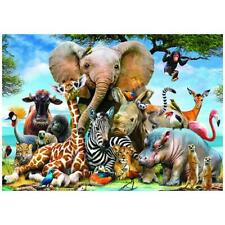1000 piece Jigsaw Puzzle Animal World Puzzles New Adults Kids Learning Education