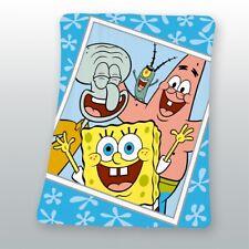 Decke Spongebob Squarepants blau 130x160 cm