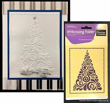 FANCY CHRISTMAS TREE - COUTURE CREATIONS embossing folders Holidays,swirl