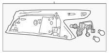 Genuine Nissan Tail Lamp Assembly 26550-4RA2A