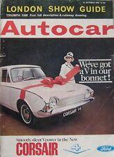 Autocar magazine 15/10/1965 featuring Jensen C-V8, Wolseley road test, Triumph