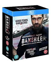 BANSHEE The Complete Series [Blu-ray Box Set] All Seasons 1-4 Cinemax HBO Show