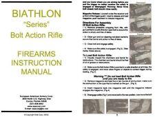 Izhmash Model Biathlon Series Bolt Action Rifle Manual