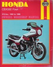 1982 - 1986 Honda CBX550 Four 572.5cc Haynes Owners Workshop Repair Manual 9400