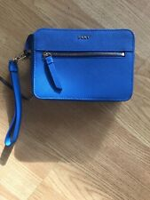 DKNY Leather - Wristlet / Bag- Detachable Strap - New