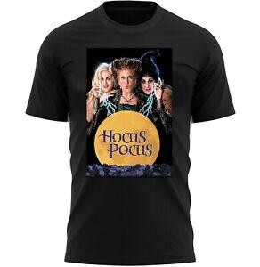 Hocus Pocus Halloween Poster T-Shirt Adults Novelty Shirt Top Gift For Men Women