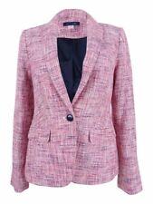 Tommy Hilfiger Women's Tweed Elbow-Patch Blazer Size 4