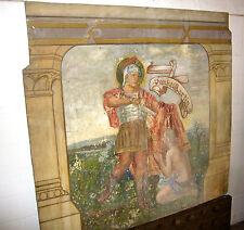 Malerei Ölgemälde Wandbild Ölbild Gemälde Theaterkulisse Wandverkleidung Berlin