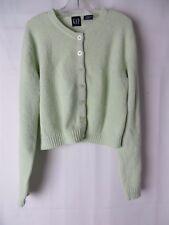 Gap Girls Cardigan Sweater Light Green Size M  #5758