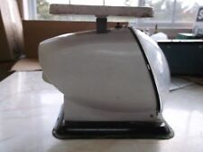 60s Vintage AMERICAN FAMILY Nursery WHITE Mid-Century Modern BABY SCALE Bullet