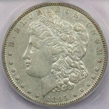 1895-O Morgan Silver Dollar ICG AU50