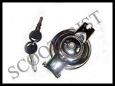 Vespa Petrol/Fuel Tank Cap/Cover With Lock & Keys VBB/Super/Sprint/150/Rally