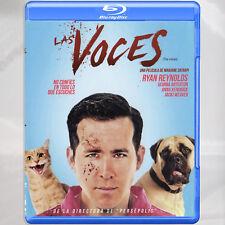 Las Voces - The Voices Blu-ray Región A, B, C
