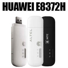 Unlocked Huawei E8372h-153 HiLink 4G LTE USB WiFi Dongle With Two 4G Antenna