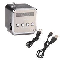 Mini lautsprecher Mikro SD TF Karte USB-Scheibe MP3 Player Verstaerker FM Radio