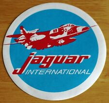 Large Sepecat Jaguar International Sticker