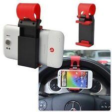 Mini supporto da auto compatto universale da Volante Sterzo per HTC ONE M7 / M8
