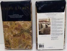 Set/2 RALPH LAUREN Bellosguardo EURO European Pillow Shams Pair NWT~MSRP $260