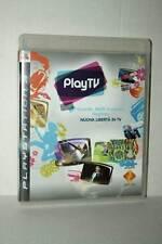 PLAY TV USATO BUONO STATO SONY PS3 EDIZIONE ITALIANA PAL GD1 44937