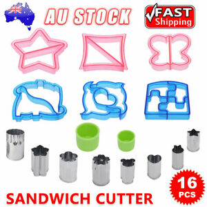 Sandwich Cutter Kids Lunch Cookies Cake Toast Mold Creative Bread Food DIY Mould