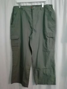 PETER STORM Performance Mens Trousers Green Pockets Cargo Casual Walking Size 40