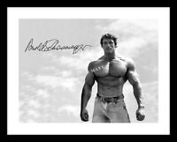 Arnold Schwarzenegger 11X14 Signed Photo Print California Autographed Muscle