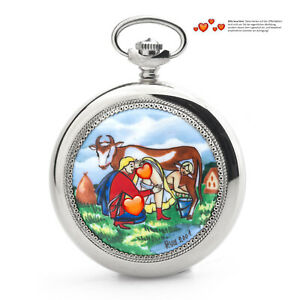 Pocket Watch 3602 Russian Analog Erotic Watch Loving Couple Bauer Molnija Jl.